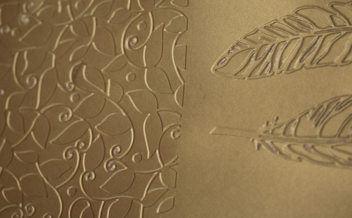 Goldfolie Artvent