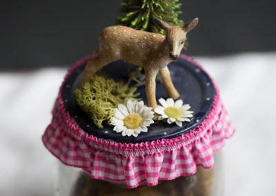 Vorratsglas mit Bambi
