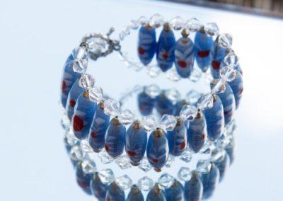 Glasperlen Armband